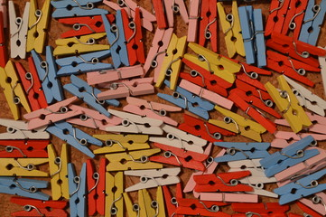 Mini clothes pins background