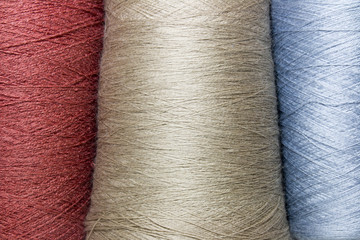 background threads and yarns isolated