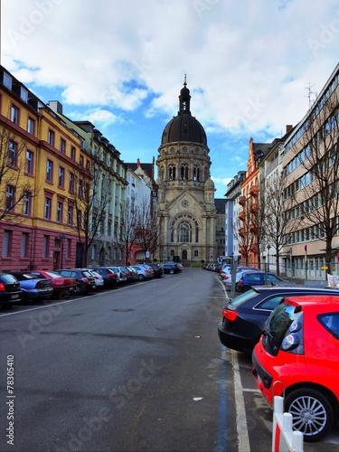 canvas print picture Mainz Christuskirche