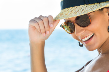 Smiling Summer Girl