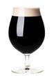 Glass of dark beer - 78306891