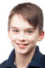 Cute boy portrait