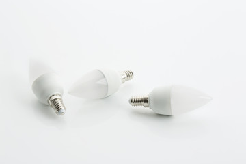 LED-Sparlampen, Kerzen, Studio
