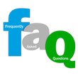 """""""FAQ"""" Letter Collage (frequently asked questions answers faqs)"""
