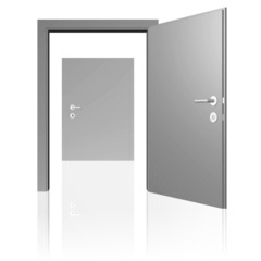 offene Tür und geschlossene Tür - neues unbekanntes Problem