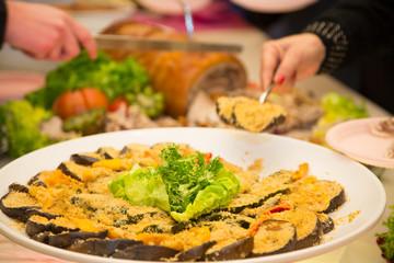 Vegetables au gratin