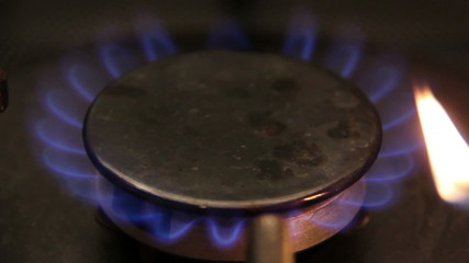 fire gas stove