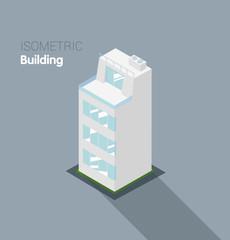 Isometric building.