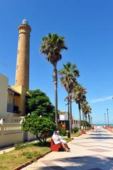 Paseo marítimo, Chipiona, Cádiz, España