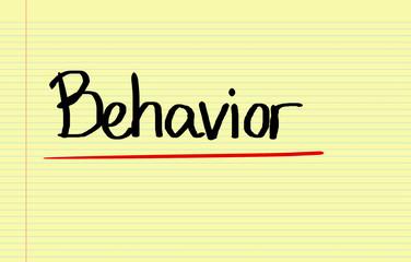 Behaviour Concept