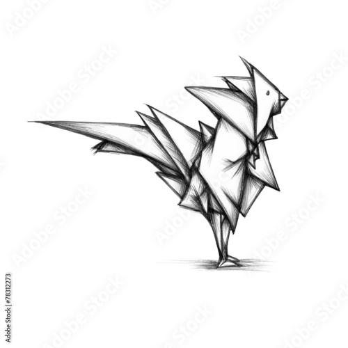 canvas print picture Paradiesvogel