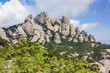 mountains of Montserrat,Spain
