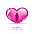 international womans day piktogramm