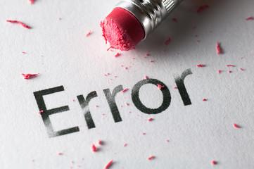 Erasing Error