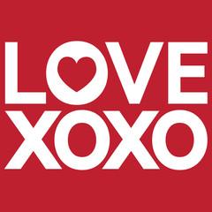 I Love You Xoxo ,Xoxo , I Love You , XO OX Love You