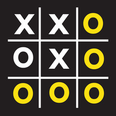 tic tac toe XO game ,  tic, tac, toe, x, game, o,