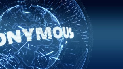World News Anonymous Intro Teaser blue