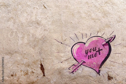 Lovely background texture - You And Me