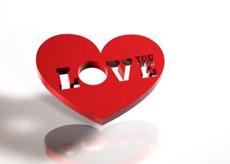 Love You - Herz ST