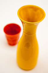 Caraffa e bicchiere