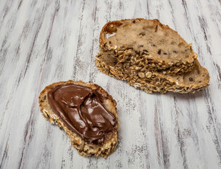 Chocolate cream spread