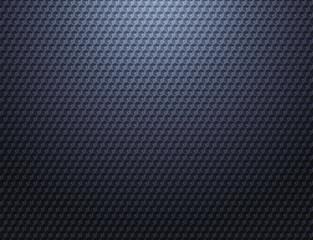 Dark blue grey metal grid pattern wallpaper