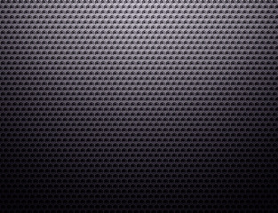 Dark grey metal grid pattern wallpaper