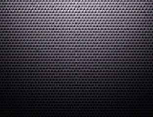 Dark grey metal grid pattern wallpaper