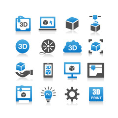 3D print icon