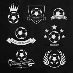 Soccer chalk