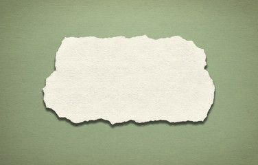 Vintage green paper background with text space