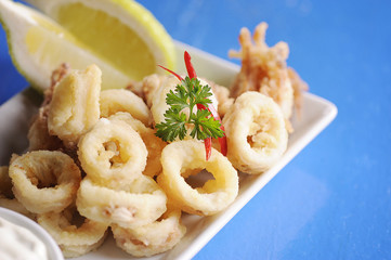 Traditional Fried Calamari