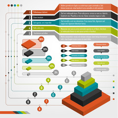 Set of infographics elements.