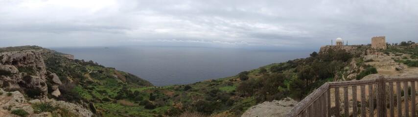Panorama à Malte