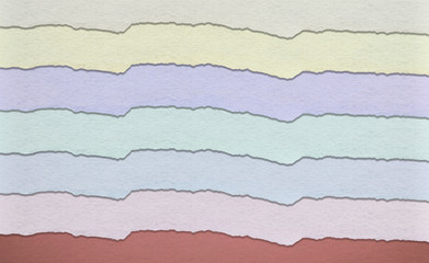 Vintage multicolored paper background
