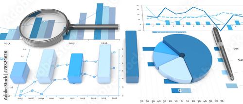 3d positive bar Graphs - 78324626