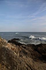Houle sur le littoral atlantique.
