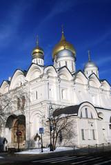 Archangels church. Moscow Kremlin. UNESCO Heritage Site.