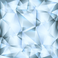 Diamond abstract vector jewelry background concept