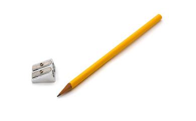 Bleistift mit Anspitzer