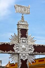 Semana Santa, Sevilla, procesiones, cruz de guía
