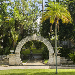 Bermuda Moon Gate