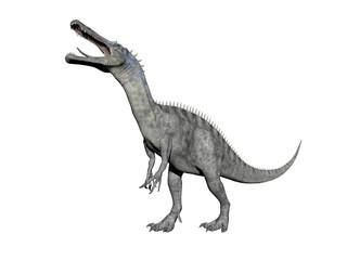 suchomimus dinosaur - 3d render