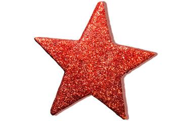 Roter Stern als Freisteller