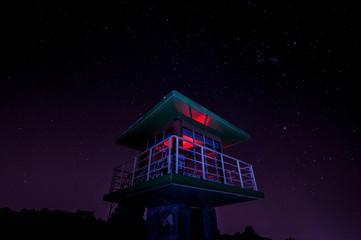 Guardabosque con estrellas