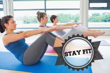 Stay fit against badge