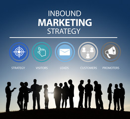 Inbound Marketing Advertisement Commercial Branding Concept