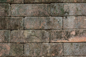 Background pattern of decorative slate dirty stone wall surface