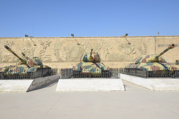 Tanks at Egyptian National Military Museum