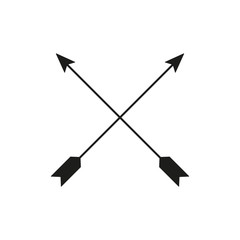 The arrow icon. Arrows symbol. Flat